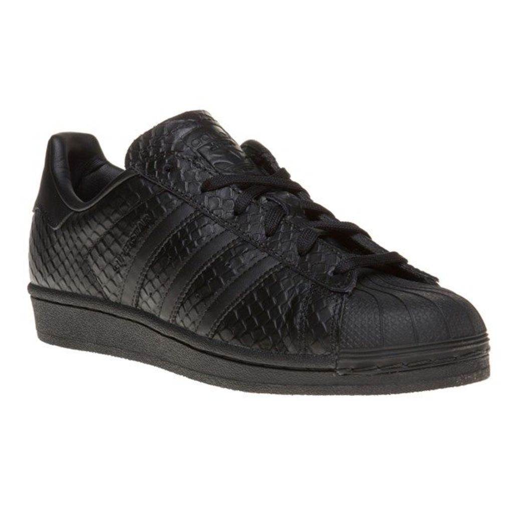 adidas Superstar Trainers, Core Black
