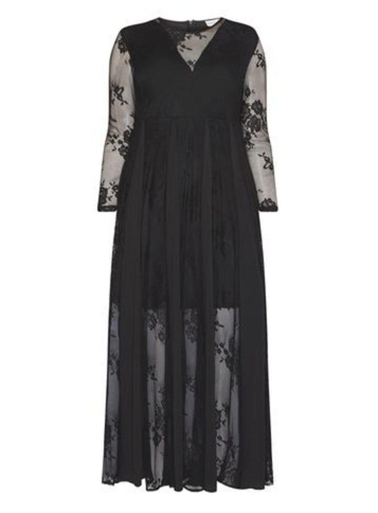 Gemma Collins Babydoll Dress, Black