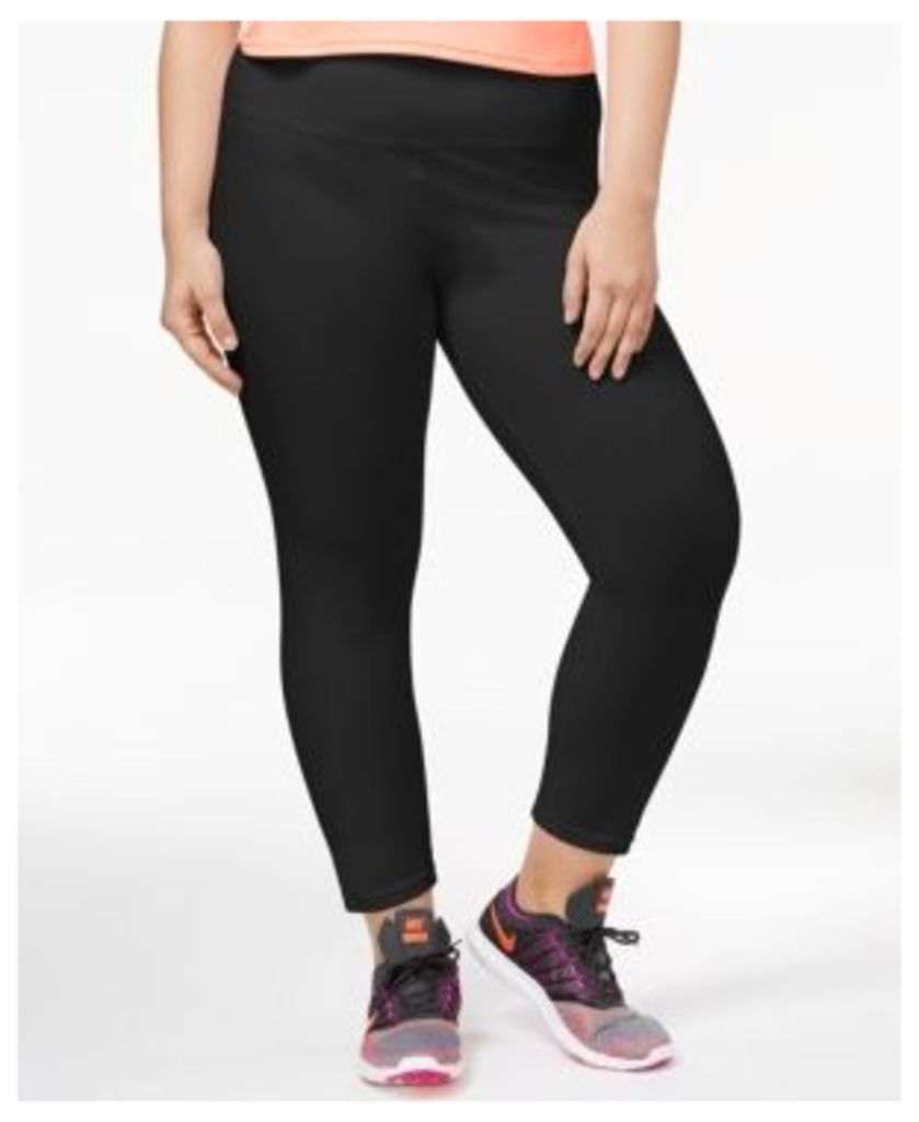 Style & Co Plus Size Tummy-Control Yoga Leggings, Only at Macy's