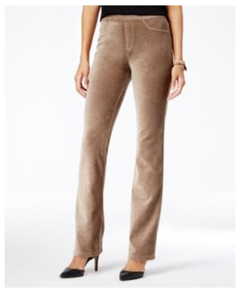 Style & Co Corduroy Pull-On Bootcut Pants, Only at Macy's