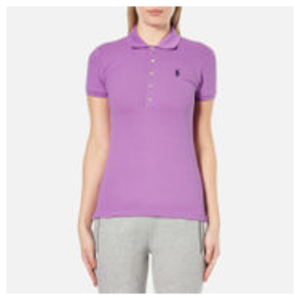 Polo Ralph Lauren Women's Julie Polo Shirt - Resort Purple - M