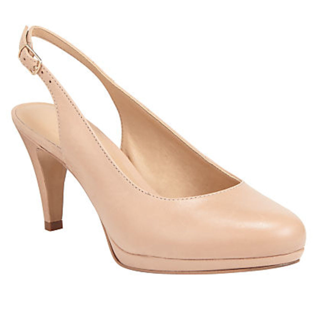 John Lewis Carly Slingback Court Shoes