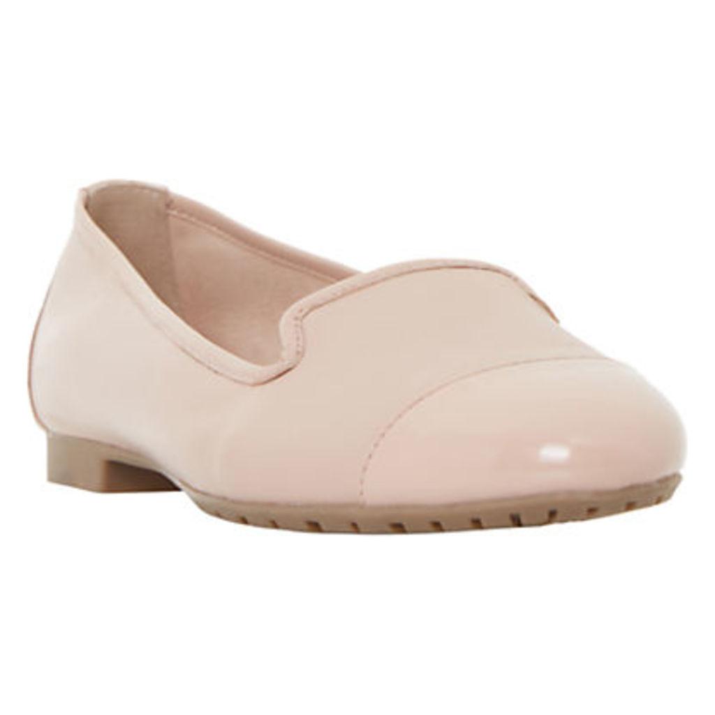 Dune Genevieve Leather Ballet Pumps