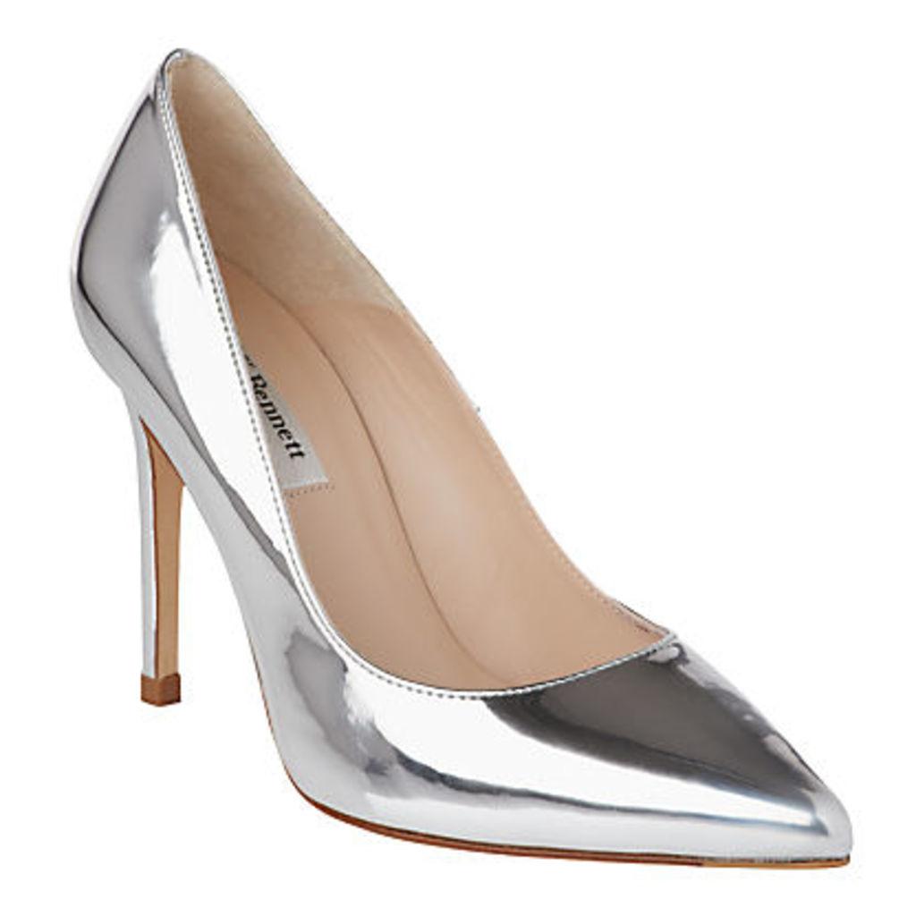 L.K. Bennett Fern Point Toe Leather Court Shoes