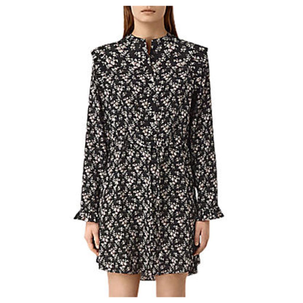 AllSaints Sora Nevin Dress, Black