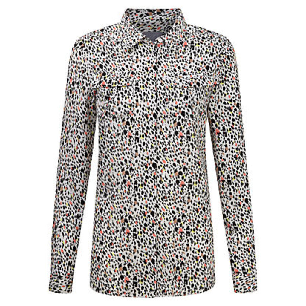 Pure Collection Pleat Pocket Shirt, Multi