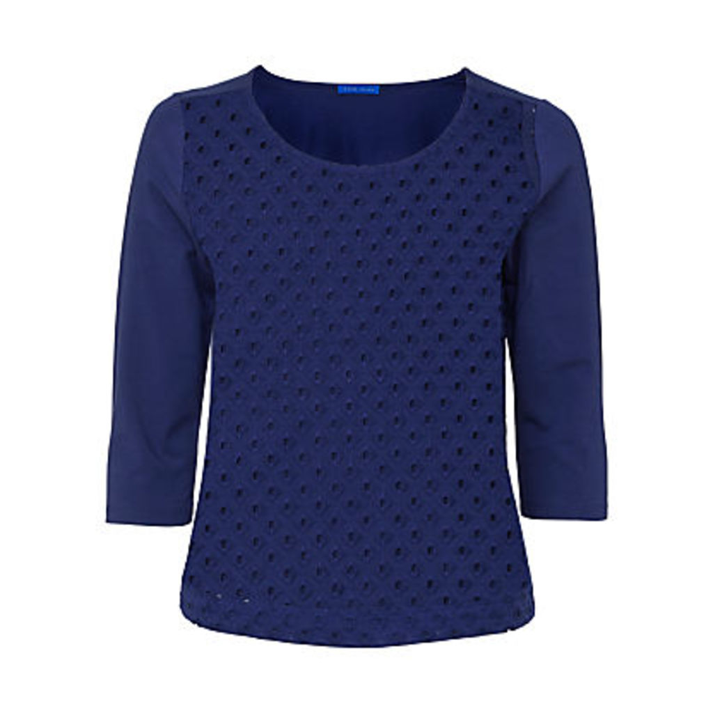 Winser London Broderie Anglaise Top, Moonlight