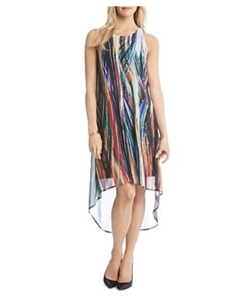 Karen Kane Modern Art High Low Dress