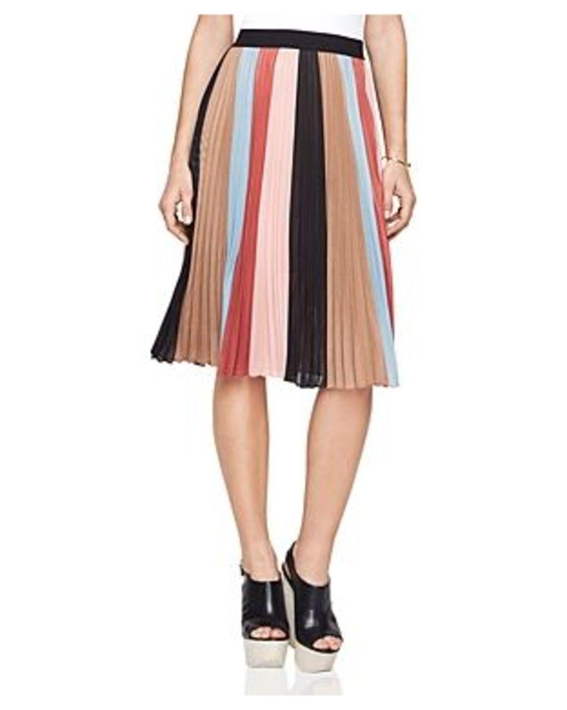 Bcbgmaxazria Nestia Color-Blocked Skirt