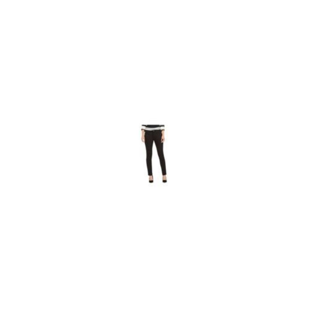 Principles Petite By Ben De Lisi Womens Black Mid-Rise Slim Jeans From Debenhams