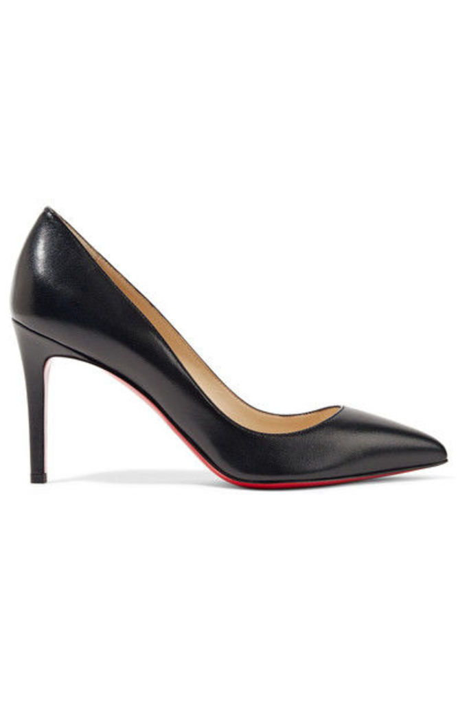 Christian Louboutin - Pigalle 85 Leather Pumps - Black