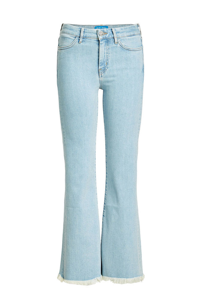 M i H High-Waisted Cropped Flare Jeans