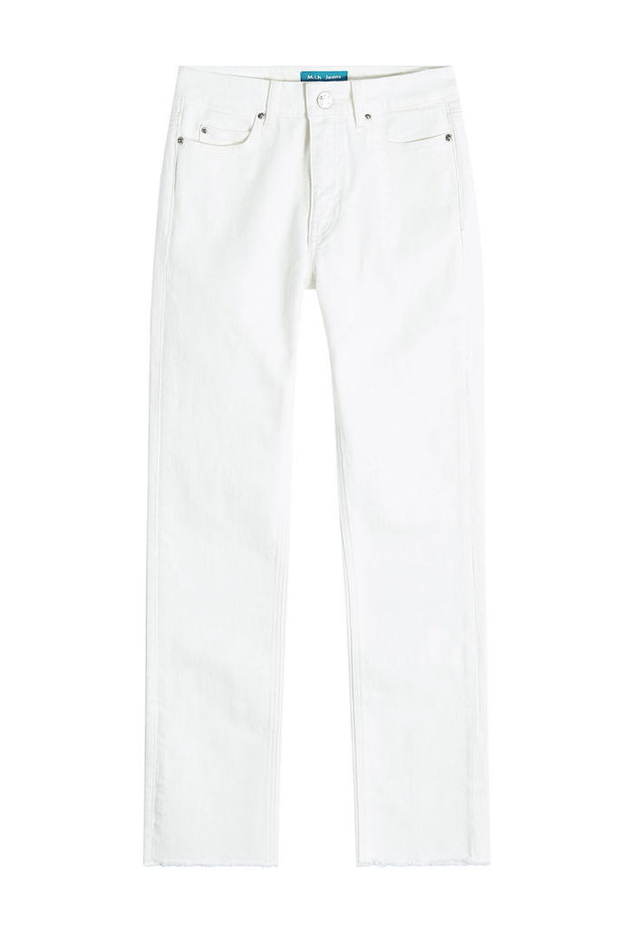 M i H High-Waisted Straight Jeans