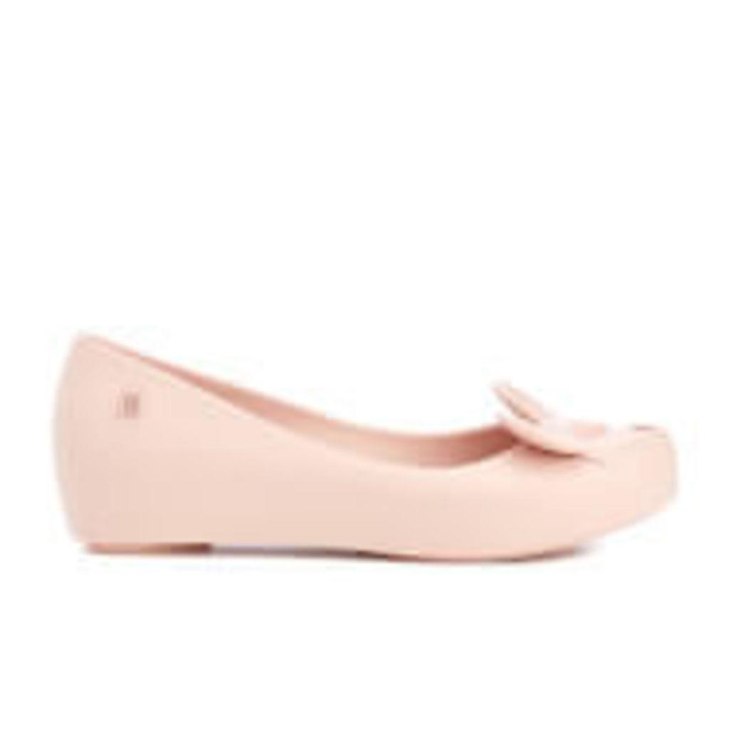 Mini Melissa Kid's Minnie Mouse Ultragirl Ballet Flats - Blush