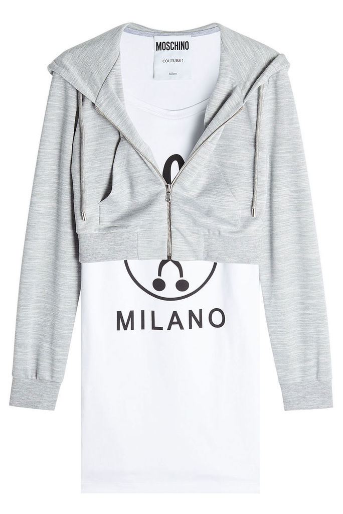 Moschino Cotton Hoody and T-Shirt Top