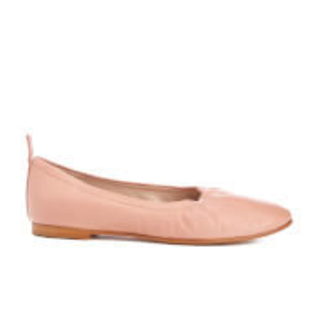 Clarks Women's Grace Mia Leather Ballet Flats - Dusty Pink