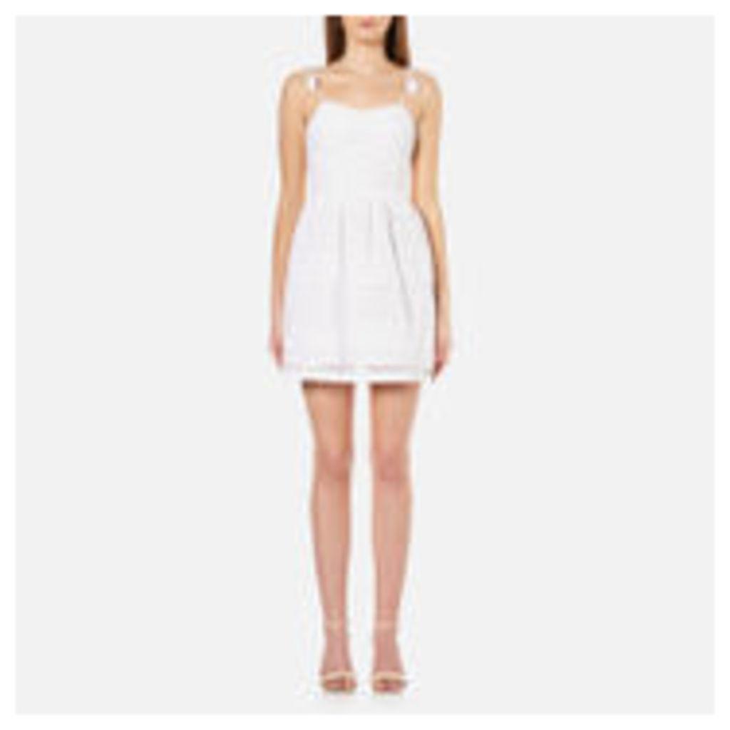 Superdry Women's 50'S Tassel Tie Dress - Optic White