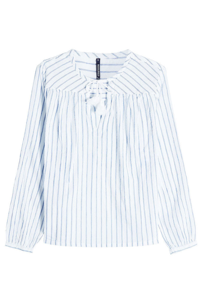 Woolrich Striped Cotton Blouse