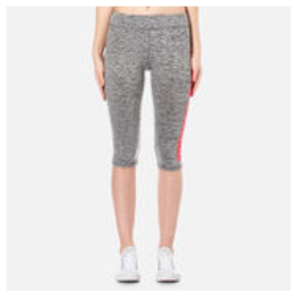 Superdry Women's Superdry Core Gym Capri Leggings - Charcoal Grit