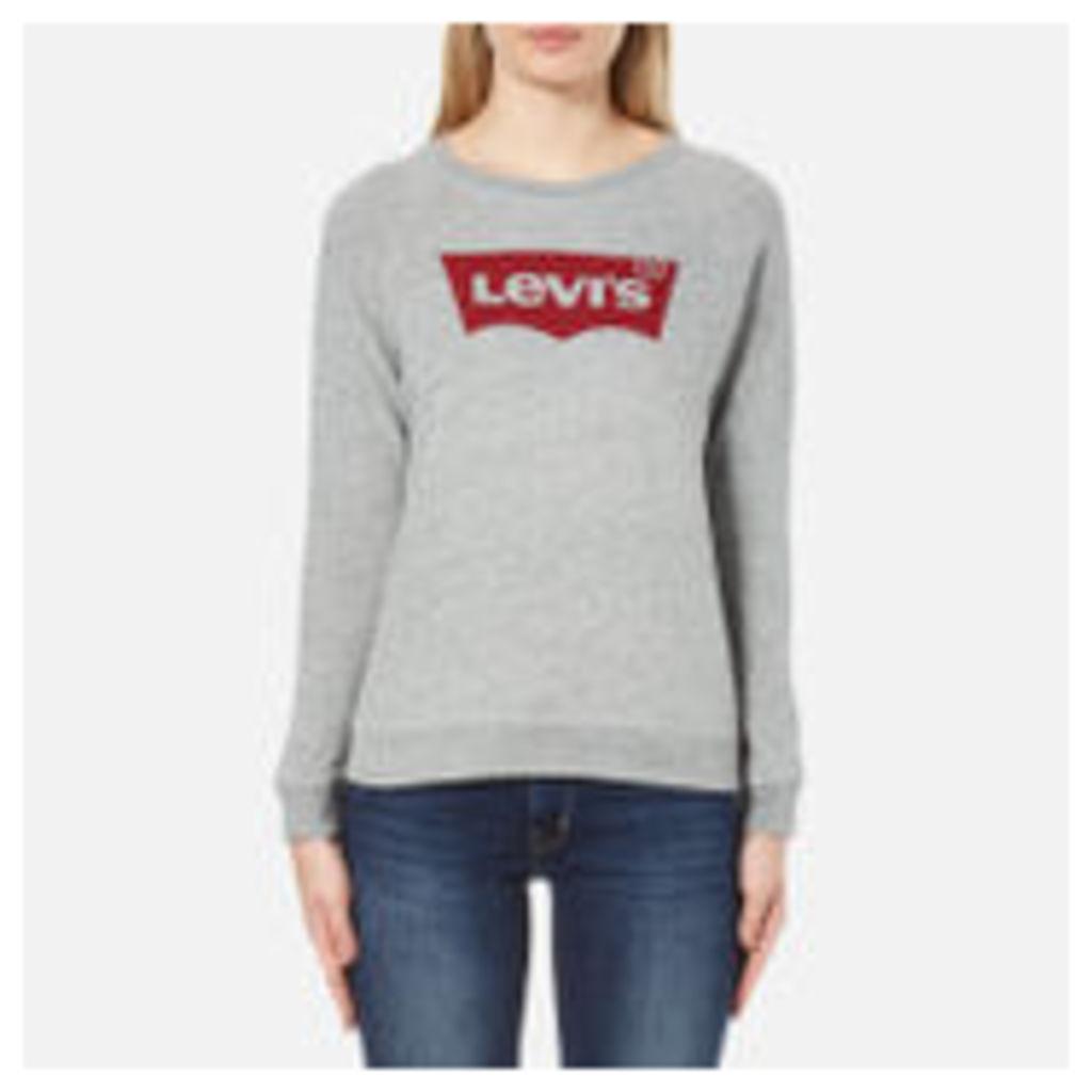 Levi's Women's Classic Crew Sweatshirt - Smokestack Heather