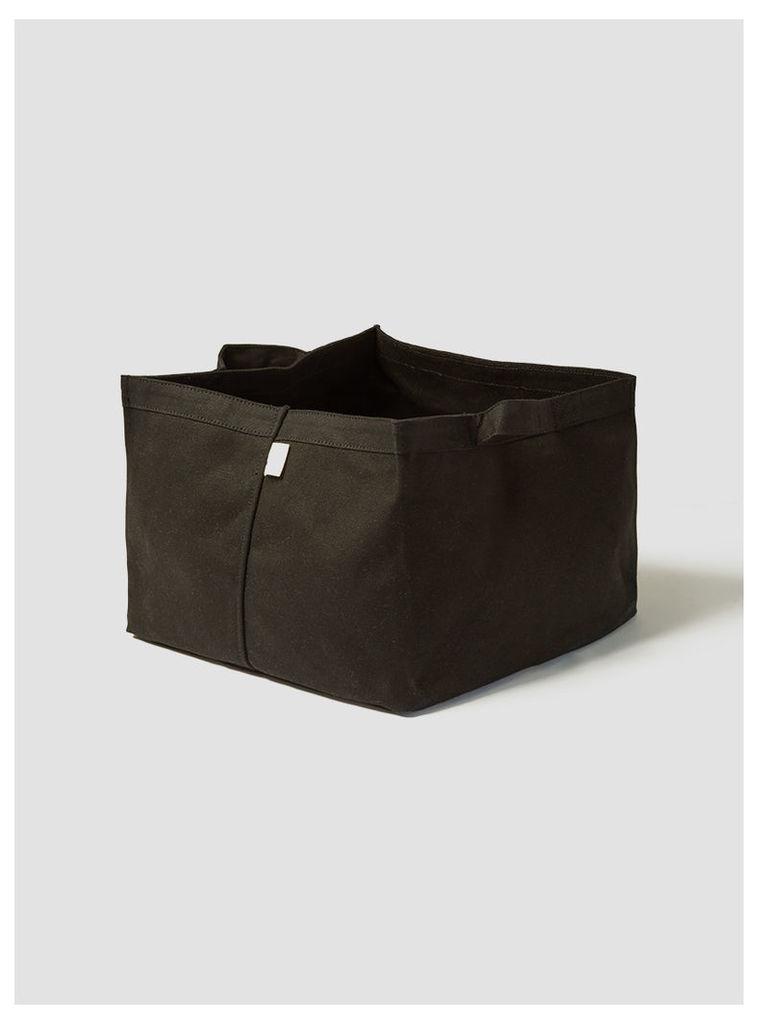 Small Storage Tote Black