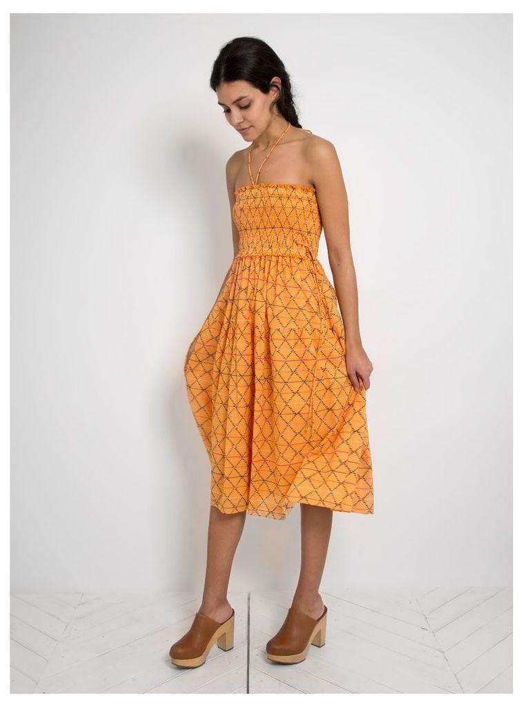 Nueva Namba Dress Diamante Print