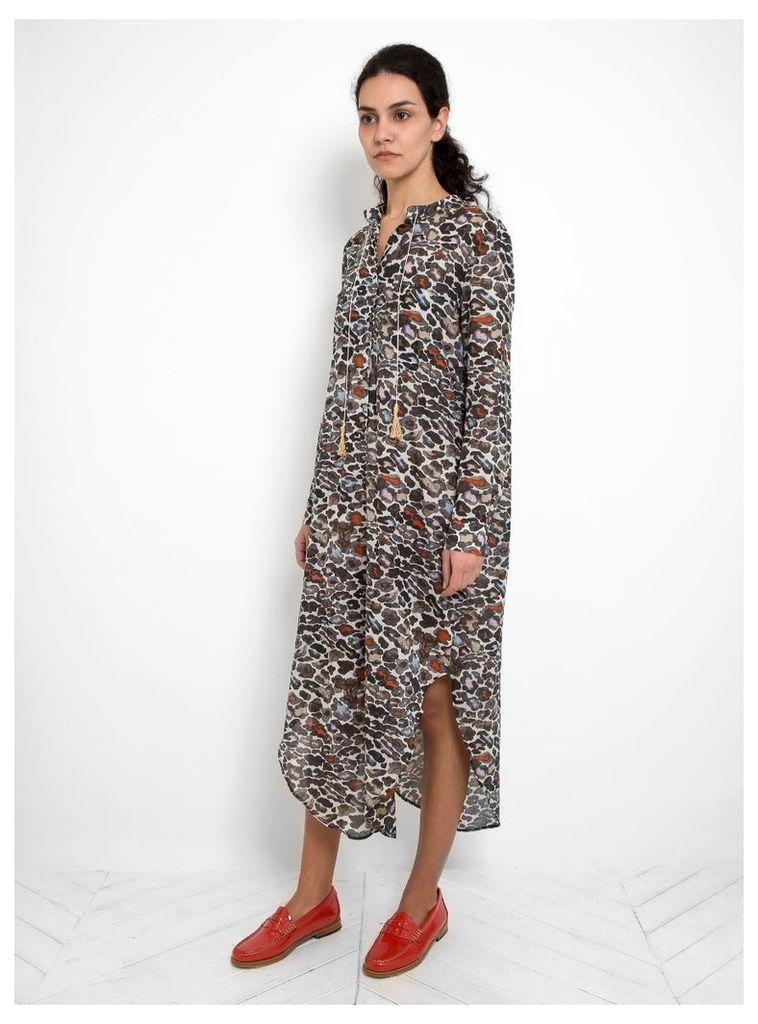 Lima Shirt Dress Ocelot Print