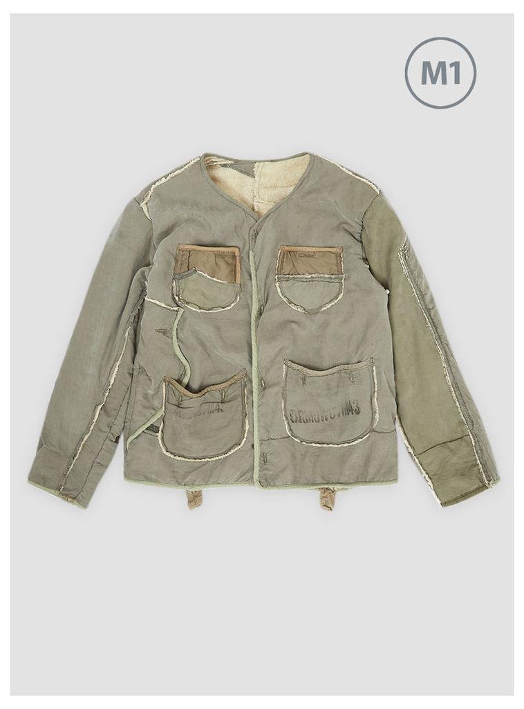 Liner Jacket Remake Olive