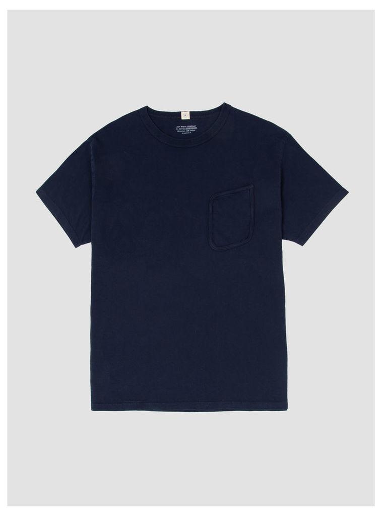 Clark Pocket T-Shirt Navy