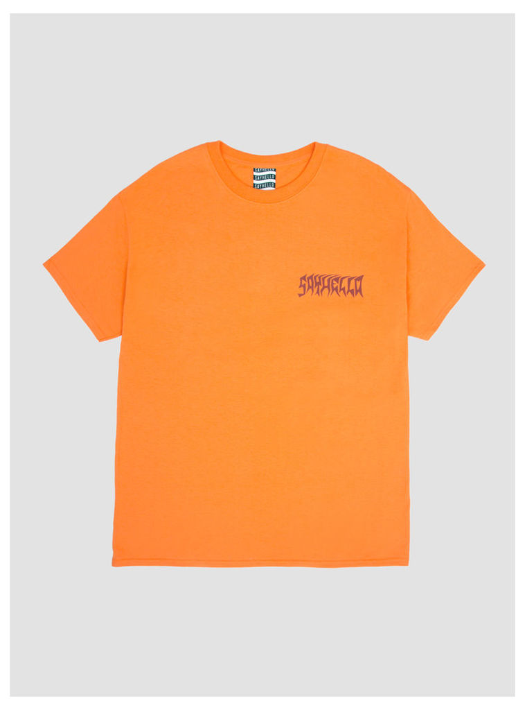Excel Logo T-Shirt Tangerine