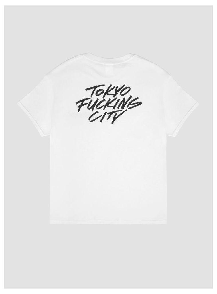 Letter Boy Logo T-Shirt White