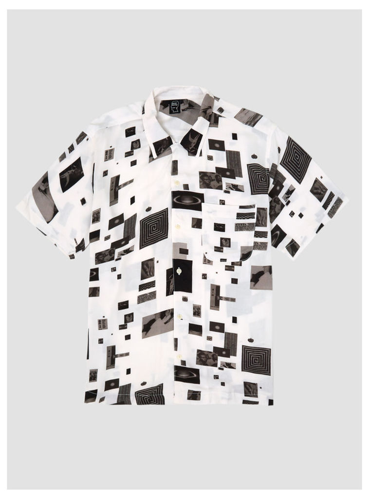 Jen Shear Hawaiian Shirt White