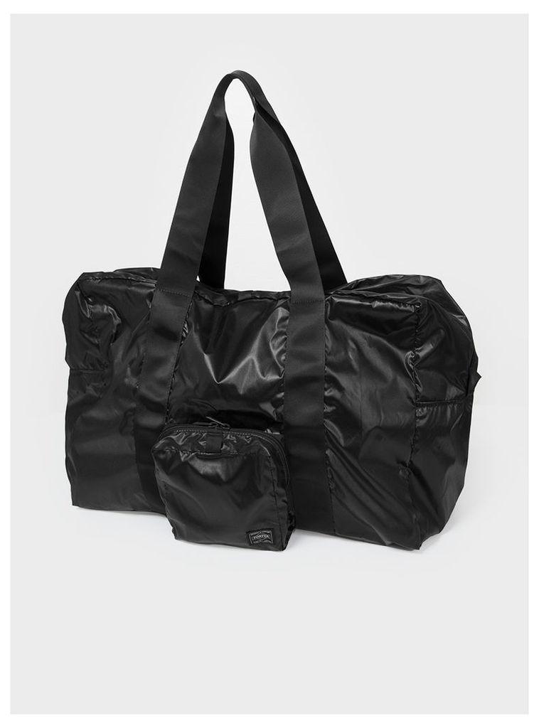Snackpack packable Boston Bag Black