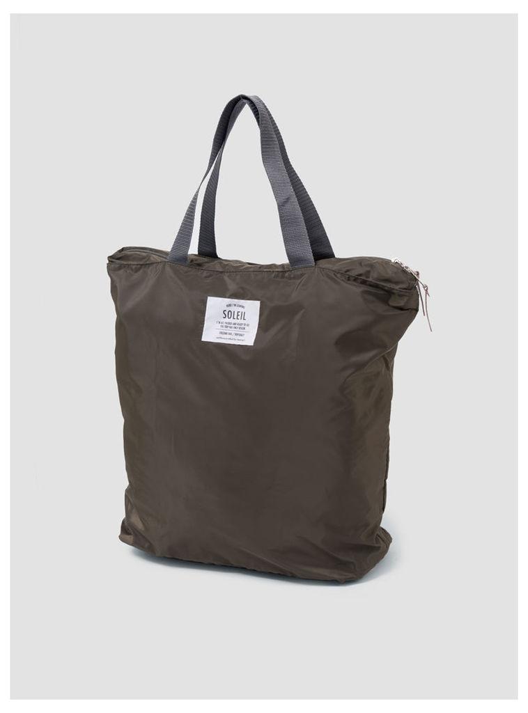 Packable Totebag Olive