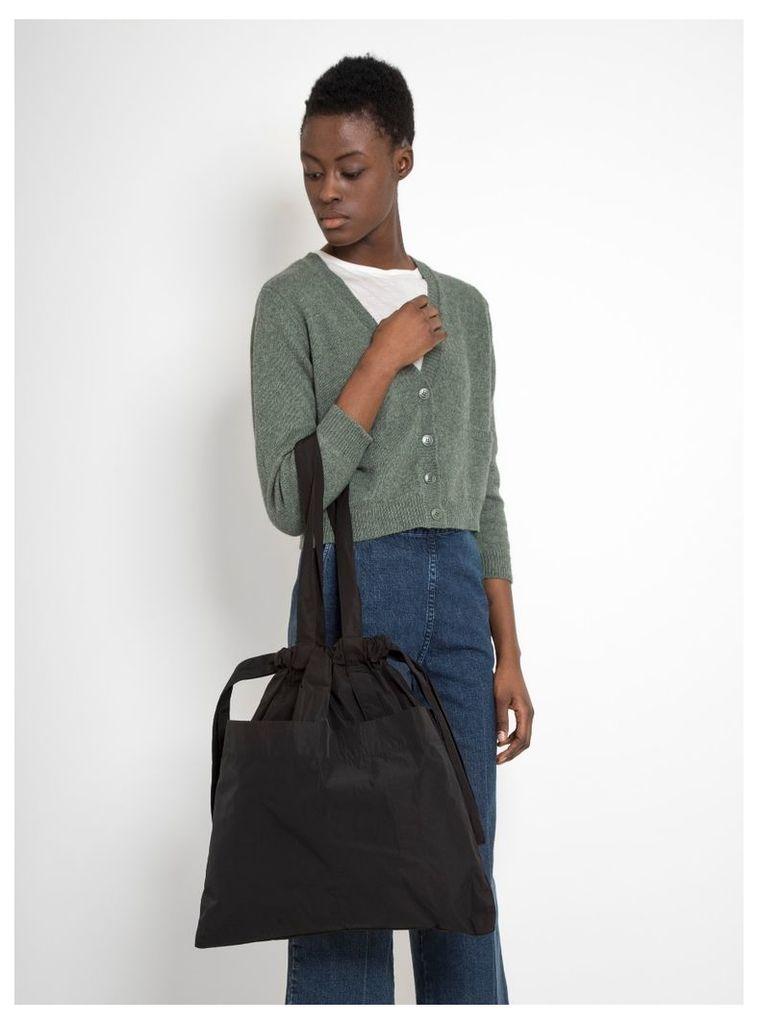 Medium Drawstring Bag Black