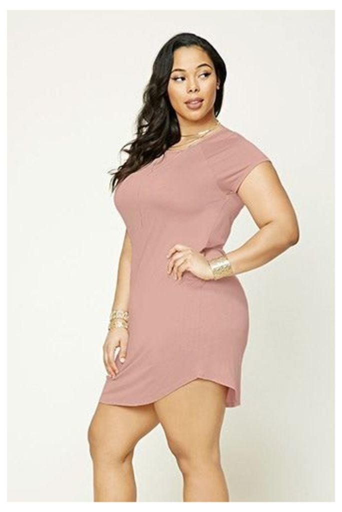 Plus Size T-Shirt Dress