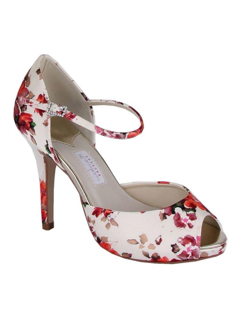 Rainbow Club Gabriella floral peep toes, Cream