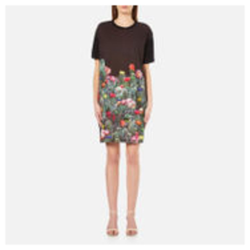 PS by Paul Smith Women's Cactus T-Shirt Dress - Black - L