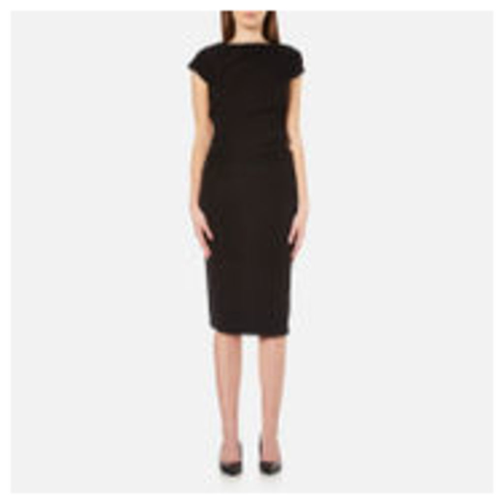 Karl Lagerfeld Women's Karl Elastic Detail Dress - Black - XS