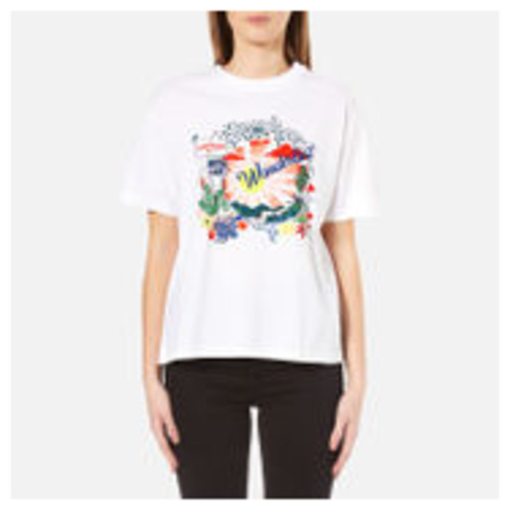 PS by Paul Smith Women's Wanderlust T-Shirt - White - XS