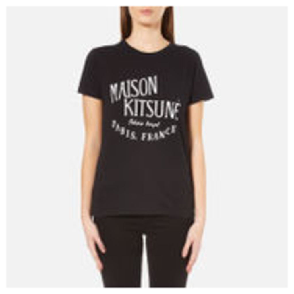 Maison Kitsune Women's Royal T-Shirt - Black - M
