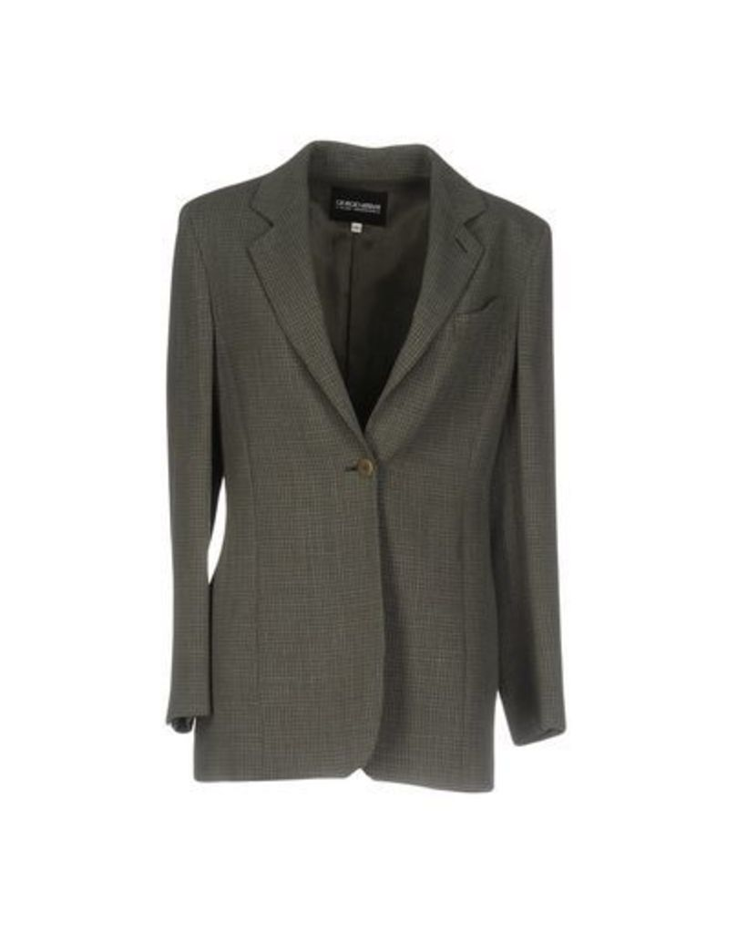 GIORGIO ARMANI SUITS AND JACKETS Blazers Women on YOOX.COM