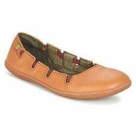 El Naturalista  EL VIAJERO  women's Shoes (Pumps / Ballerinas) in Orange