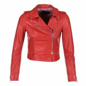 Oakwood  YOKO  women's Leather jacket in Red