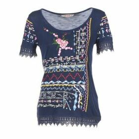 Desigual  RICOLU  women's T shirt in Blue