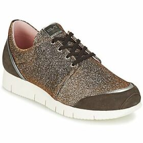 Unisa  BOMBA  women's Shoes (Trainers) in Silver