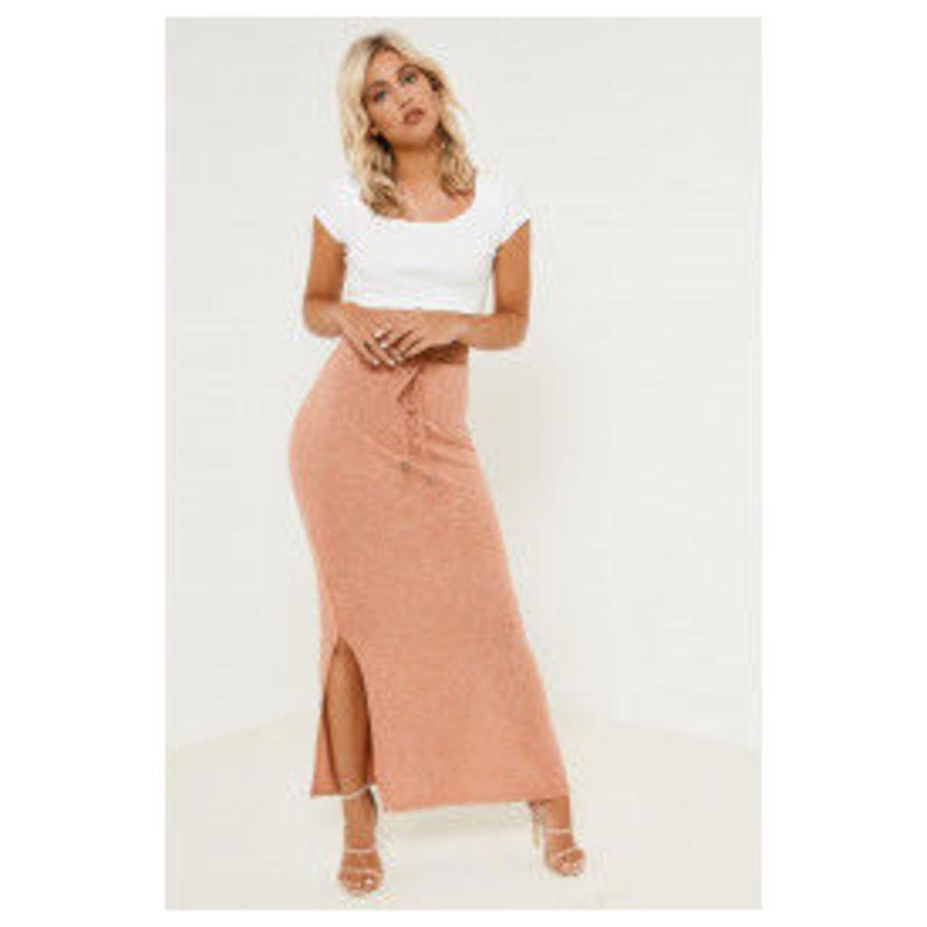Vila Glea Maxi Skirt - Pink