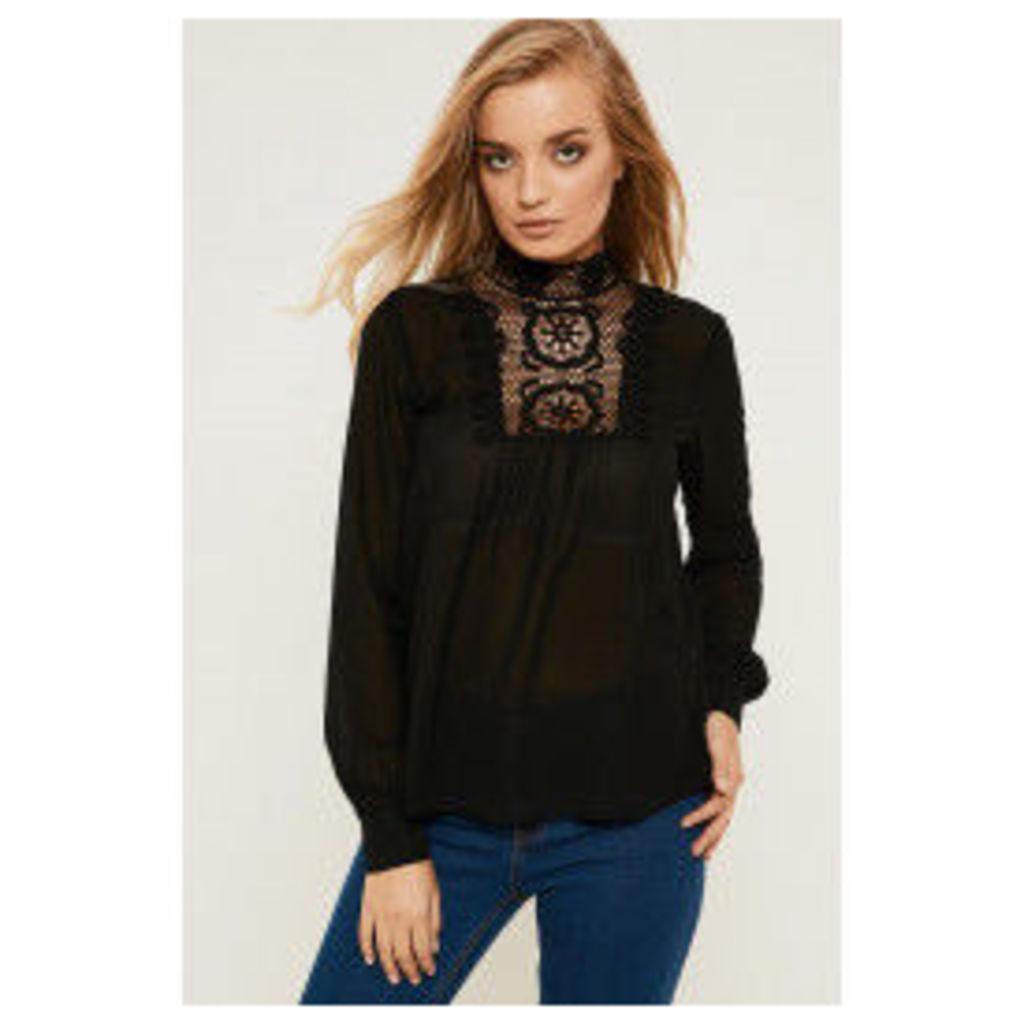 Y.A.S Lic Shirt - Black