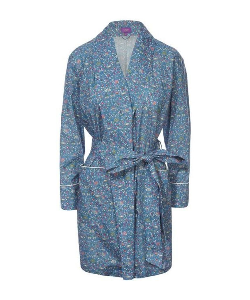 Imran Short Cotton Robe