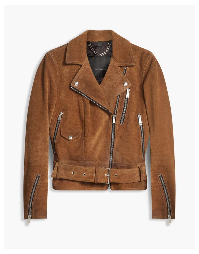 Belstaff Elkstone Biker Jacket Sepia